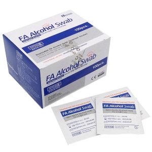 에프에이 알콜스왑 100매 /이소프로필 알콜70%/알콜솜