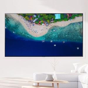 삼성 65인치 UHD 비즈니스 TV 벽걸이형 삼성 무료설치