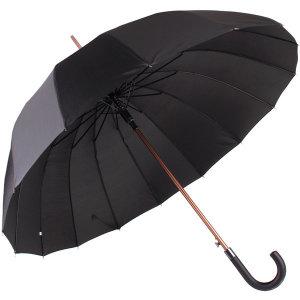 바니브라운 16K 자이언트 블랙 자동 장우산