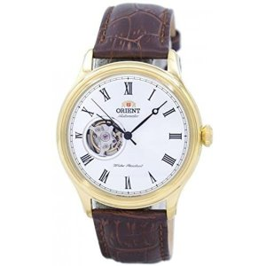 ORIENT FAG00002W0  Open Heart Automatic White Dial