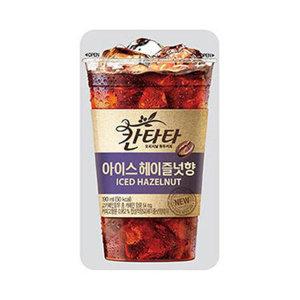 칸타타 아이스 헤이즐넛향 파우치 190ml 10입 2박스