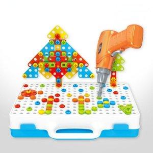 3D입체 드릴 공구놀이 세트 어린이 장난감 드릴놀이