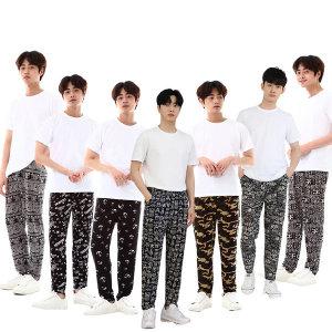 9부(XL) 남성대나무쿨팬츠 쿨바지 여름바지 쿨팬츠