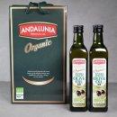 안달루냐 유기농 엑스트라버진 올리브유 500mlx2 세트