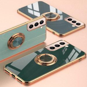갤럭시S21 S20 노트플러스울트라FE 링 핸드폰 케이스