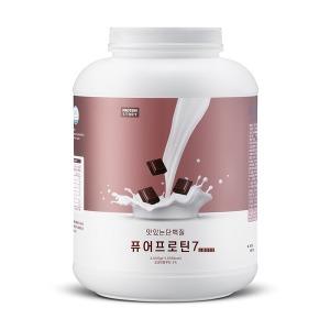 퓨어프로틴7 맛있는 유청 단백질 헬스 보충제 3kg