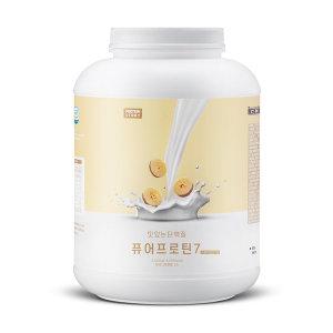 퓨어프로틴7 맛있는 유청 단백질보충제 3kg 바나나맛