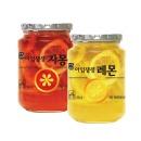 상큼한 과일청2종세트 (아임생생 레몬550g+자몽550g)