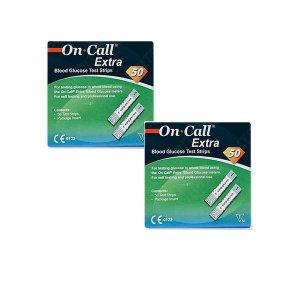 온콜 엑스트라 시험지 혈당시험지 2BOX(100매입)