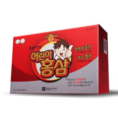[종근당] 종근당건강 어린이 홍삼 30포 1박스 (1개월분)