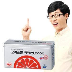 고려은단 비타민C 1000 300정 유재석 비타민 10개월분