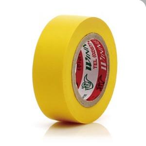 컬러 절연테이프 노란색 19mmX10m 전기테이프