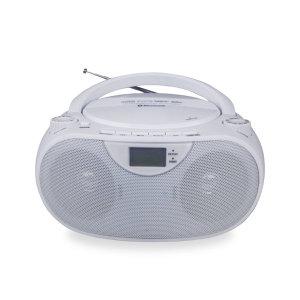 SOUNDUP USB 블루투스 CD플레이어 포터블카세트 WHITE