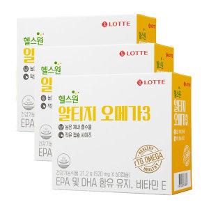 알티지 오메가3 31.2g (520mgx60캡슐) 3박스