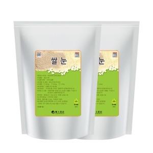 국내산 현미 쌀눈 2kg(1kg+1kg) A급