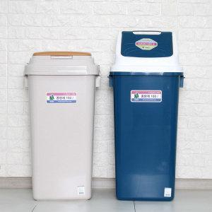대형 휴지통 100리터 재활용 쓰레기통 분리수거함
