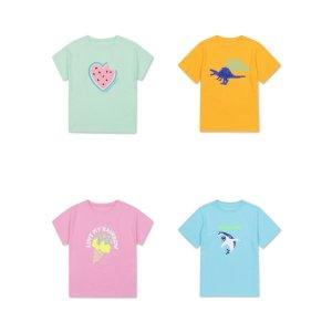 (대구신세계)탑텐키즈(정상가19.900원) 입체그래픽 반팔 티셔츠
