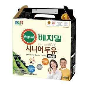 정식품/베지밀/5060시니어두유190ml(16팩)X4박스/64팩