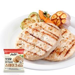닭가슴살 스테이크 갈릭맛 1kg(100gX10팩)