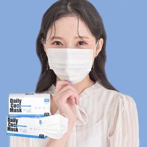 국산 식약처인증 KF-AD 비말차단 데일리쿨마스크100매