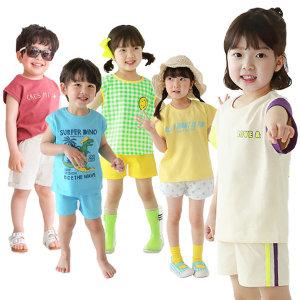 삼소니 어린이집 등원복 티셔츠 유아 상하복 세트