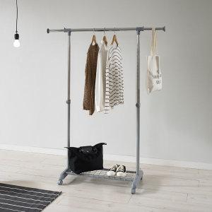 왕자뉴이동식조절선반행거(327)옷걸이 공간활용만점