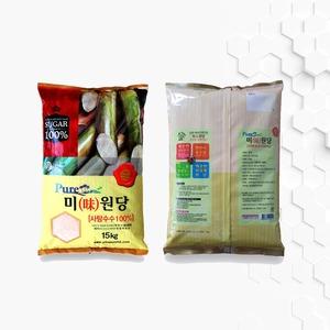사탕수수원당 비정제원당 고급설탕 피비에스 PBS 15kg