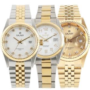 갤럭시 마스터피스 50M방수 사파이어 글라스 손목시계