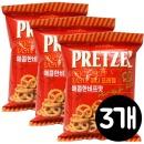 미니 프레첼 (매콤한 비프맛) 85gx3봉 과자/간식/안주