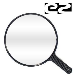 EZ 미용실용 손잡이 원형 뒷거울 O38