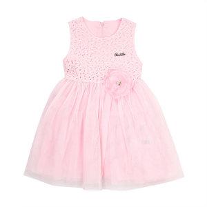Q93DKO060 핑크 레이스 드레스