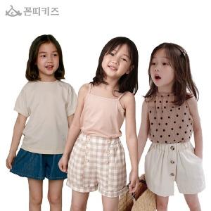 여름 여아옷 하의 바지/레깅스/반바지/스커트/가디건