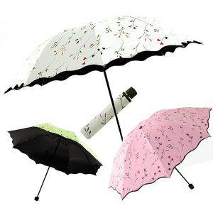 로맨틱플라워 암막 우양산/우산/양산/우양산/UV/패션