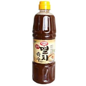 롯데푸드 멸치육수0.9L