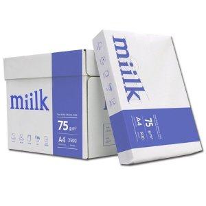 밀크(Miilk) A4용지 75g 1박스(2500매)