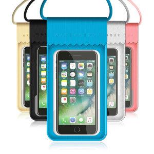 V6 IPX8등급 커버 스마트폰 방수팩  물놀이 휴대폰 수