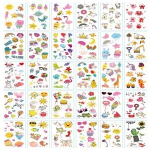 마스크 판박이 햇님별님 어린이 타투 문신 스티커