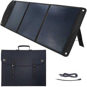 휴대용 태양광 충전기 100W 캠핑 여행 태양열 판 쏠라