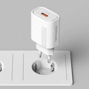 1+1 2개)초고속 USB 핸드폰 고속 충전기 삼성 갤럭시