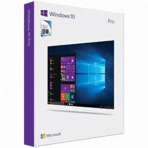 Microsoft Windows 10 Pro (처음사용자용 한글)
