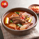 장터 소고기 국밥 600g 6팩/소고기국밥/해장