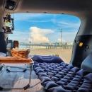 피넛 휴대용 차박 에어매트 차량용 매트리스 2인용