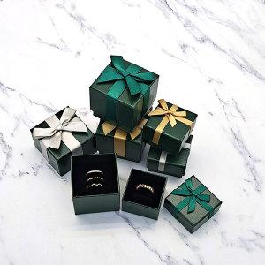 초록이 케이스 쥬얼리 선물 종이케이스 b0925(돌반지)