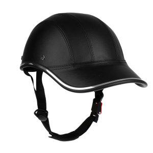 PU 캡형 야구 자전거/오토바이/승마 안전 고글 헬멧