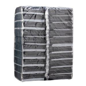블랙 회오리 종이면봉 20봉 검정 나선형 흑면봉