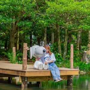 제주 스누피가든+카멜리아힐|제주여행|동백꽃수목원