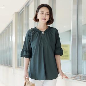 엄마티셔츠 블라우스 4060대50대중년여성의류 미시옷