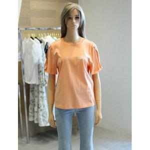 소매 꼬임 티셔츠 (EL2CH562)