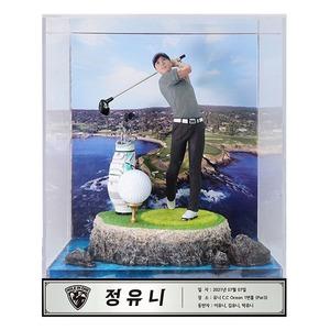 3D 골프 피규어 제작 홀인원 이글 기념패 (피니시)
