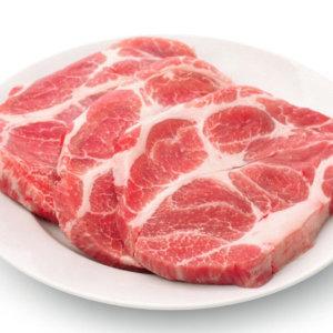 1.3cm 돼지고기 목살 300g 3팩/씨에라